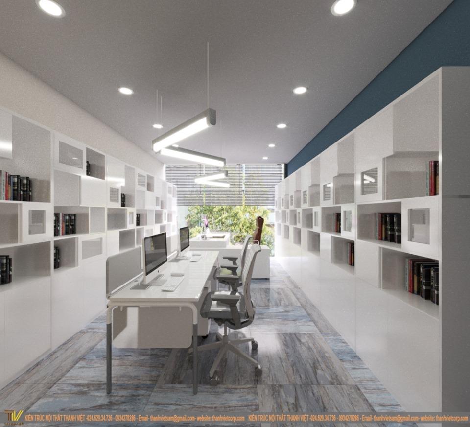 Tổ hợp văn phòng showroom BVS Stone II - 3