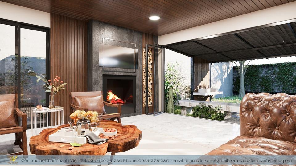 Trang trí nội thất gỗ tự nhiên