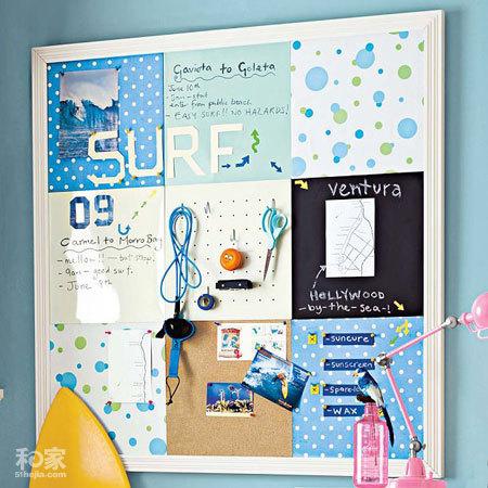 Chỉ một chiếc bảng cũng đủ giúp bạn trang trí phòng ấn tượng hơn
