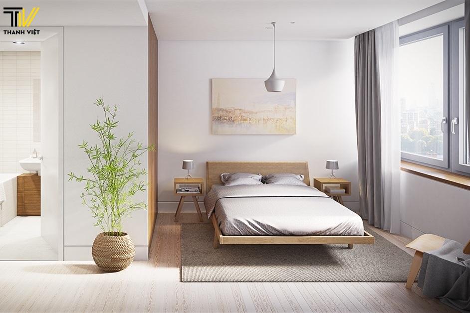 Tông màu thiết kế nội thất phòng ngủ Thu Đông 2018 được ưa chuộng