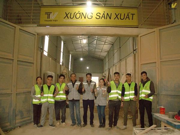 Xưởng Thanh Việt Corp trong những ngày cận kề Tết 2019