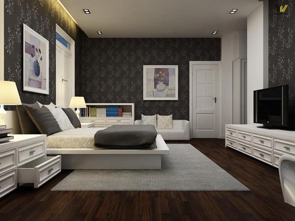 Bí quyết thiết kế phòng ngủ lãng mạn theo phong thủy