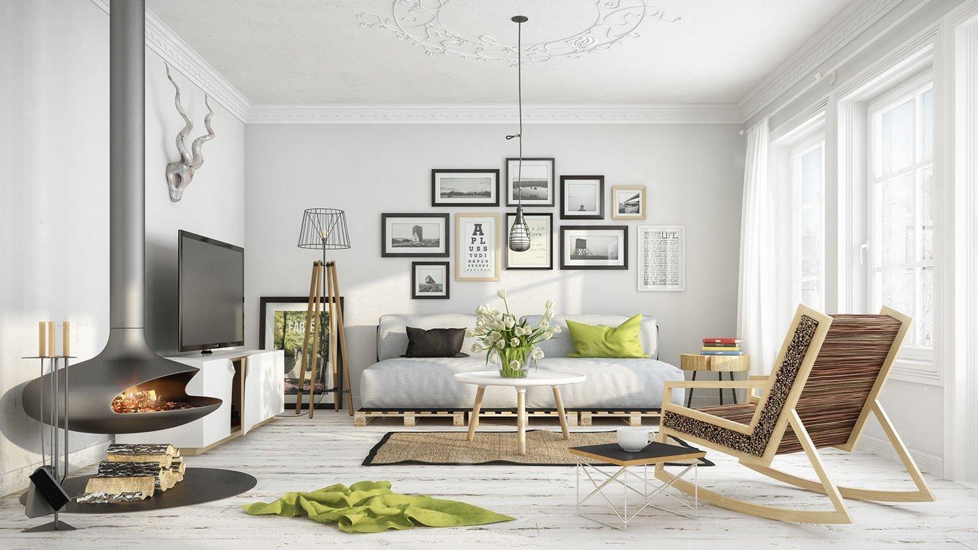 Thiết kế nội thất phong cách Scandinavian - Nét đặc trưng của vùng đất Bắc Âu