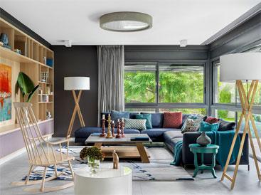 Thiết kế nhà ở mang phong cách hiện đại với cách bài trí độc đáo