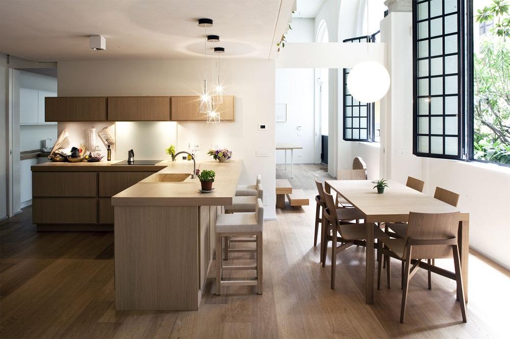 Thiết kế căn bếp ấm áp và độc đáo cho gia đình bạn