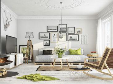 Những phòng khách mang phong cách hiện đại, độc đáo, ấn tượng
