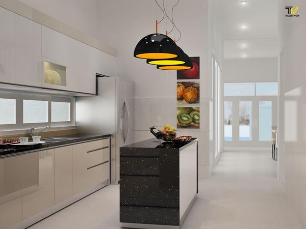 Vị trí hợp lý đặt không gian nhà bếp trong phong thủy