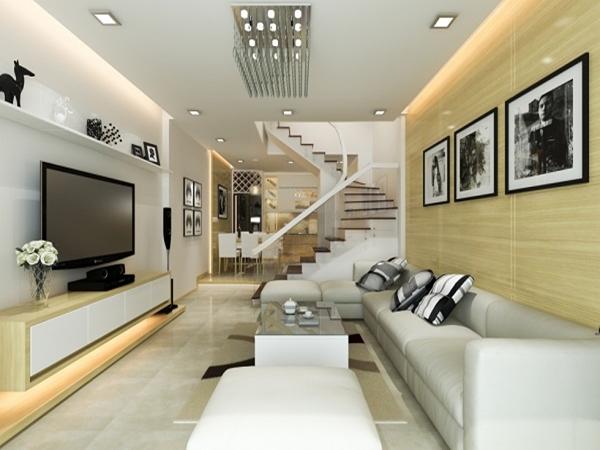 Một vài mẹo cho thiết kế nội thất cho nhà ống hẹp