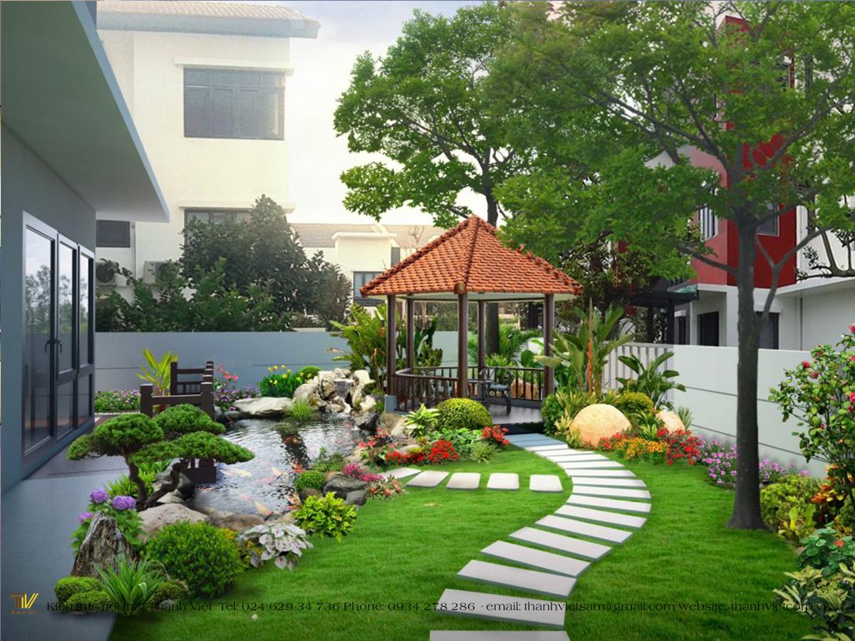 Một số phong cách cho sân vườn nhà bạn