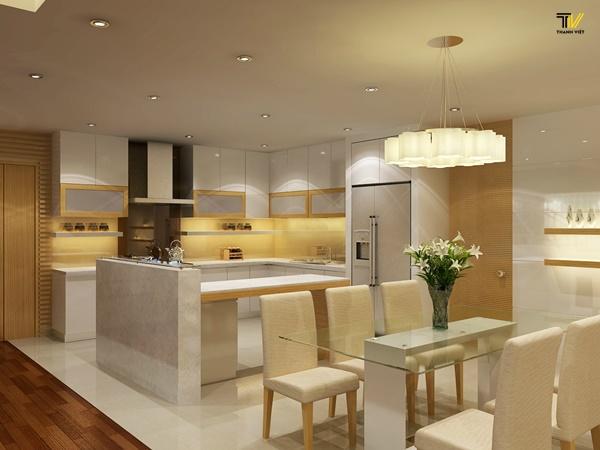 Phong thủy nội thất nhà bếp và những điều cần biết