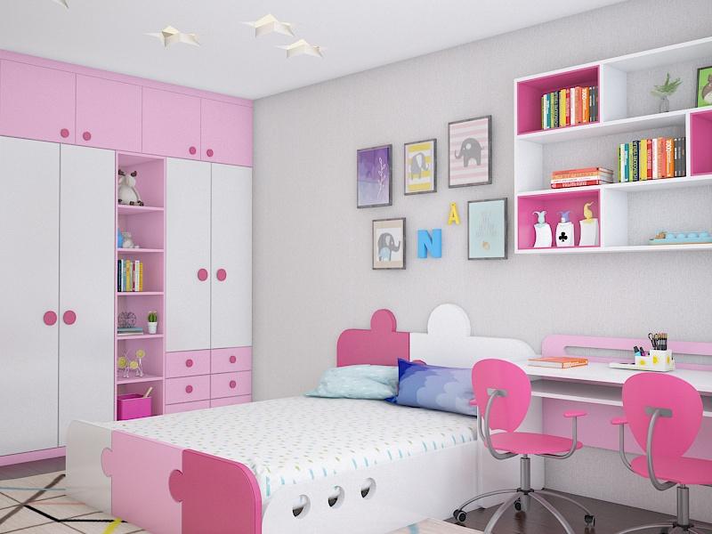 Lời khuyên hữu ích khi thiết kế nội thất phòng ngủ cho trẻ