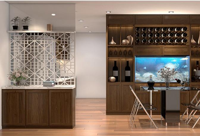 """KTS tư vấn thiết kế căn hộ chung cư 104 m2 """"vạn người mơ""""!"""