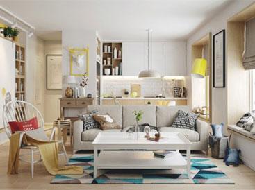 Ngắm những căn phòng sáng sủa dựa trên nền trắng tinh khôi
