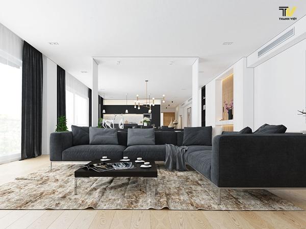Đơn vị nhận thiết kế thi công nội thất chung cư Hà Nội trọn gói