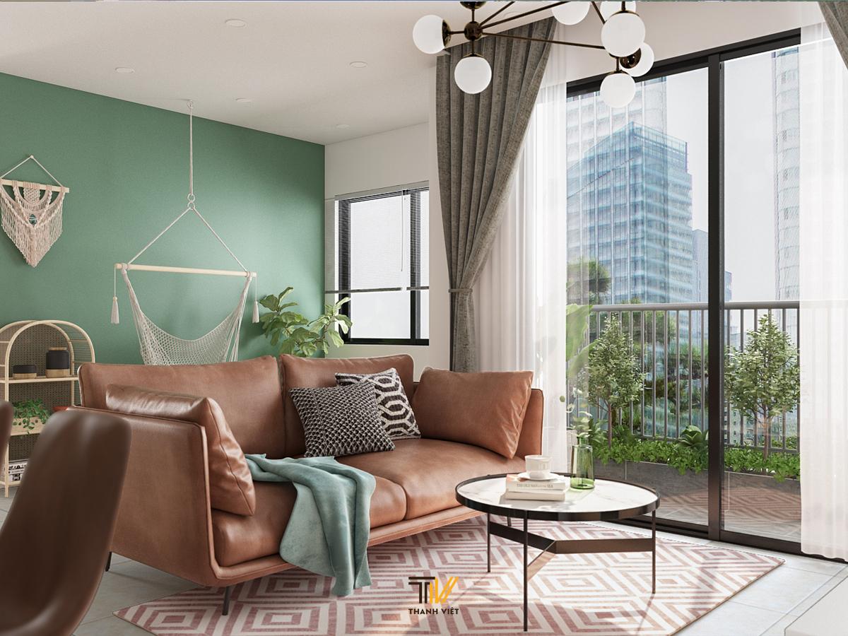 Nội thất căn hộ đẹp như cổ tích Vinhomes Ocean Park