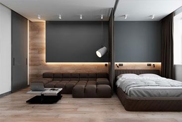 Căn hộ nhỏ 42m2 có cách bố trí nội thất khiến ai cũng phải trầm trồ