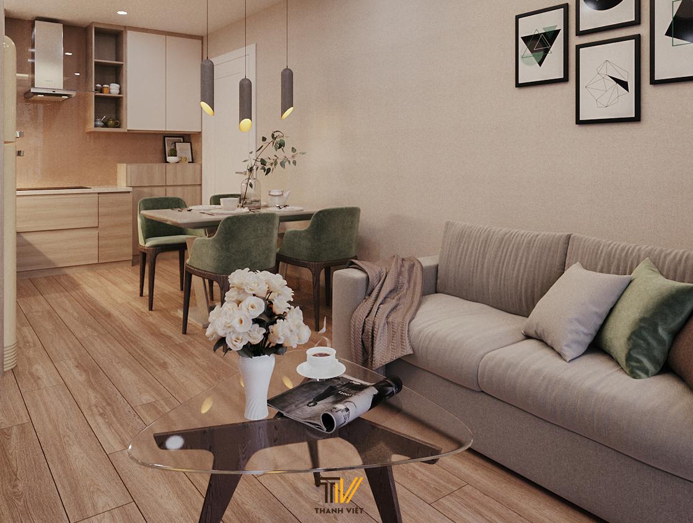Những ý tưởng hay khi thiết kế nội thất phòng khách nhỏ