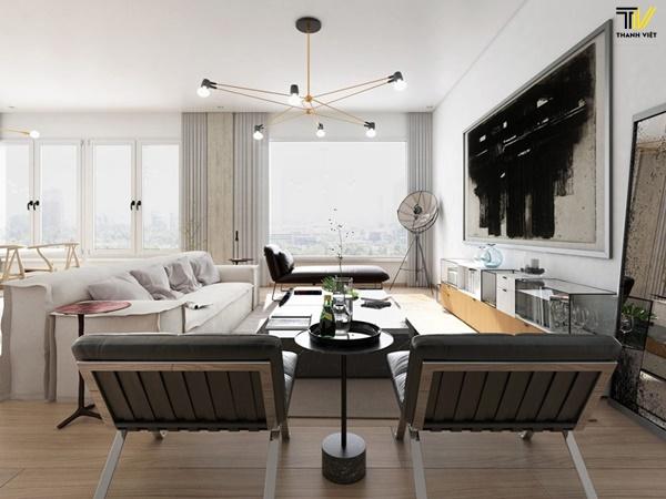 Xu hướng nội thất phòng khách bằng gỗ thời thượng