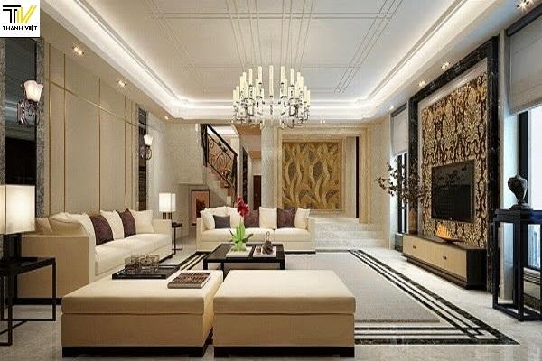 Tham khảo phòng khách nhà đẹp kiểu châu Âu