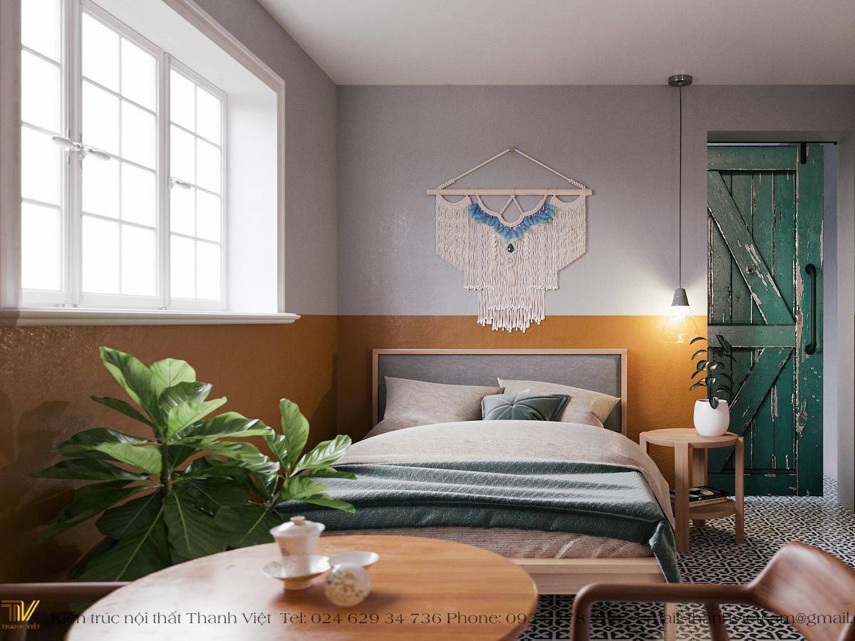 Thiết kế nội thất homestay Tây Hồ