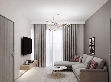 Thả mình vào không gian nội thất hiện đại chung cư Season Avenue