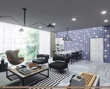 Tổ hợp văn phòng showroom BVS Stone II - Nghệ An