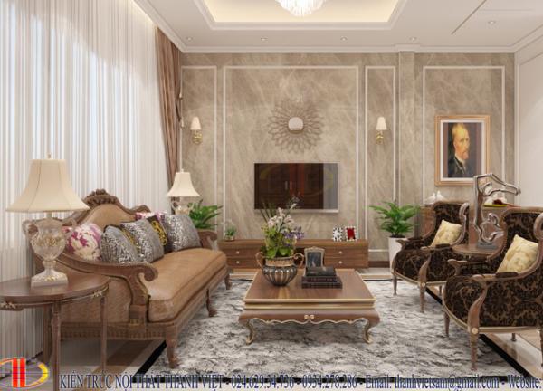 Biệt thự hiện đại kết hợp tân cổ điển - Mr.Tuấn