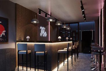 Lung linh quán trà đạo theo phong cách Nhật Bản