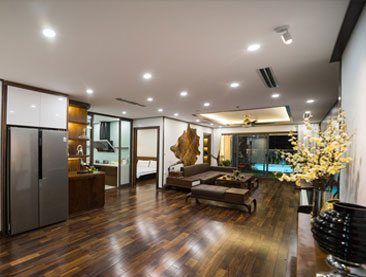 Siêu căn hộ 200 m2 được Thanh Việt thi công