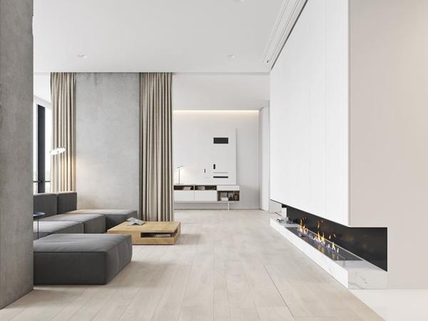 Mẹo nhỏ trang trí nội thất nhà đẹp với tông màu trắng
