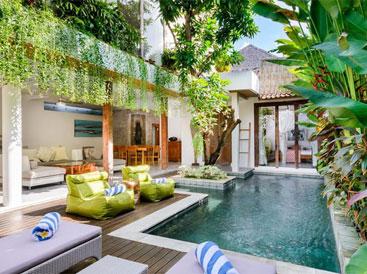 Mê mẩn với biệt thự phong cách nhiệt đới tuyệt đẹp ở Bali